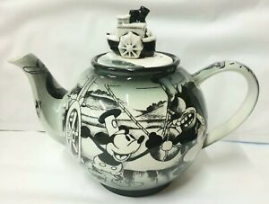 Disney Steamboat Willie Limited Edition 2002 Teapot Collectable NEW - NO BOX