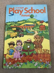 Play School Annual 1983 BBC Tv Grandreams Very Good Condition