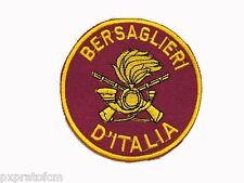 Patch Bersaglieri d Italia Cremisi Esercito Italiano Toppa Militare con  Velcro 843df6e22a3e