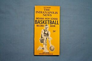1967 Indianapolis News Basketball Record Book Rick Mount cover