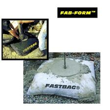 """Concrete Footing Form - Fabric Fast-Bag - 24"""" x 24"""" x 12"""" size (10 Pack)"""