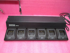 Kenwood KMB-16 * 6-Slot Charging Station with 6 KSC-24 Charger Bases