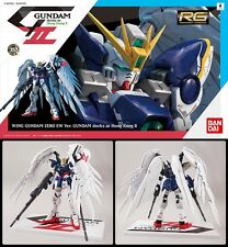 RG Real Grade Gundam Wing Zero custom 1/144 model kit Limited Docks in Hong Kong