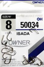 Owner Haken ISADA 50034 versch. Großen Angelhaken Hacken