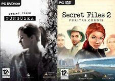 Secret Files  Tunguska & Secret Files 2 Puritas Cordis  used very good condition