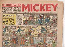 Journal de MICKEY n°130 du 11 avril 1937. Bel état