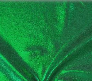 IRISH GREEN SPARKLE LYCRA 50cm
