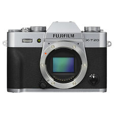 Fujifilm X-T20 Mirrorless 24.3MP 4K Fuji X T20 Digital Camera Body Silver
