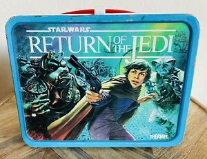 Vintage 1983 Return of the Jedi Metal Lunchbox. No Thermos,