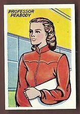 Calvert Dan Dare Series Trade Type card #3 Professor Jocelyn Peabody Ex Cond.