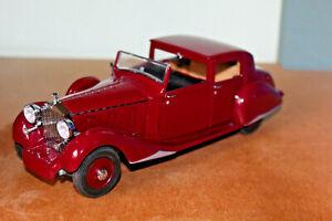 DANBURY MINT 1:24 ROLLS ROYCE PHANTOM III 1938 - unboxed - for repair