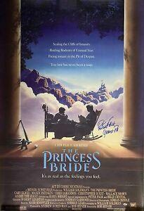 Peter Falk Signed The Princess Bride Movie Poster - Special Grandpa Inscription