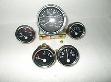 Mahindra Jeep CJ340 , CJ540, MM540 Speedometer + Temp + Oil + Fuel + Amp Gauge
