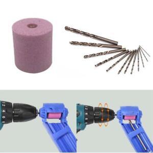 6mm/6 Corundum Wheel Portable Drill Sharpener Wear Resisting Grinding Wheel Kits