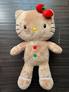 "RETIRED Build a Bear 18"" Hello Kitty By Sanrio Gingerbread Plush"