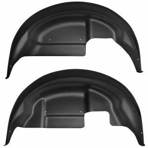 HUSKY 79151 Wheel Well Guards for 2017-2020 Ford Raptor F150 Rear Fenders Inner