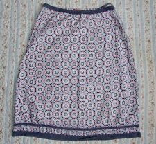 WHITE STUFF SKIRT. SIZE 8. 100% COTTON. FULLY LINED.
