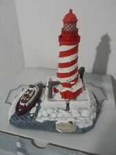 Harbour Lights Lighthouse White Shoal Light Michigan #704 Christmas Signed