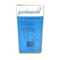 Parkworld 691876 RV 30A to 30A Dog Bone Power Adapter Cord L5-30P to TT-30R
