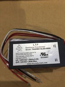 LED Driver L.T.F. TA60WA12LED-0000 120 VAC 0.5A 50/60HZ
