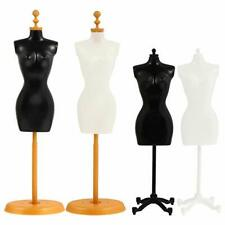 Mannequin Form Head Female Adjustable Full Body Torso Display Hanging Stand 4pcs