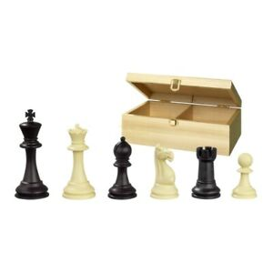 Chess Figures - Nerva - Recycled Plastic - Staunton - Kings Height 3/4in
