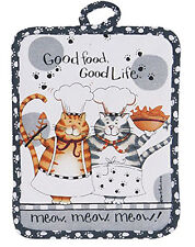 NEW - Kay Dee Designs Happy Cat Kitchen Pot Holder
