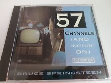 BRUCE SPRINGSTEEN ~ 57 CHANNELS AND NOTHING ON ~ SINGLE REMIX 1992 CD