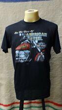 """Vintage 90s Deadstock Harley Davidson """" AMERICAN STEEL """" 3D Emblem T Shirt"""