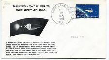 1962 Flashing Light Hurled Orbit Cape Canaveral Project Mercury NASA USA
