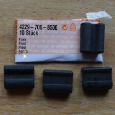 Four Genuine Stihl Rubber Feet BG85 BG65 BG55 BG46 BG45 SH85 SH55 4229 706 8500