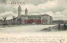pre-1907 CARNEGIE LIBRARY, SCHENLEY PARK, PITTSBURG, PA. 1905