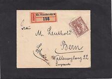 Briefmarken aus Tschechien & der Tschechoslowakei mit Bedarfsbrief
