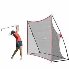 Portable 10x7ft Golf Practice Hitting Swing Nylon Net For Indoor Outdoor Detacha