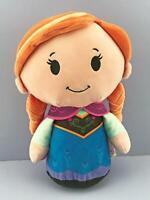 "12"" Frozen Anna Doll Itty Bittys Biggys Hallmark Disney Plush Large New no Tag"