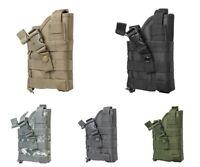 VISM Ambidextrous Modular MOLLE Pistol Holster RH/LH Draw Tactical Duty Gear