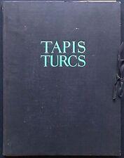 VEGH de Jules, Tapis turcs provenant des églises et collections de Transylvani