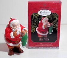 Hallmark Keepsake Collector's Membership Ornt New Christmas Friend 1998 Qxc4516