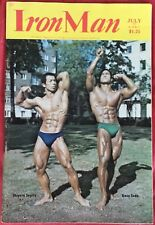 Vintage Iron Man Magazine July 1988 Bodybuilding Arnold Schwarzenegger Gay EXC