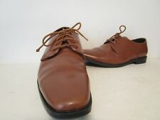 Joseph Abboud Mens Lace Up Oxford Dress Casual Shoes Brown Size 10.5 M