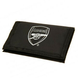 (wal104)  Official ARSENAL Football Club Black React Wallet BNIP