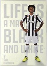 Cartoncino Juventus Stagione 2017/18 - Juan Cuadrado