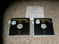Earth Orbit Stations Commodore 64 C64 Game with Summary Card - Tested