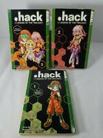 .hack  Legend of the Twilight Manga 1, 2, 3