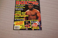 May 1993 Boxing Scene Magazine Mike Tyson Cover