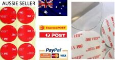 2x 3M VHB Double Sided Tape Clear 30mm Round Mounting Pad Home Office