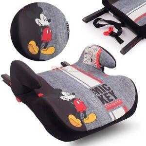 DISNEY - Mickey Mouse Boostersitz Isofix Gruppe 3 (22-36 kg) Car seat NEU/OVP