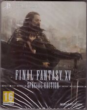 Final Fantasy XV Special Edition w/ SteelBook [PlayStation 4 PS4, Region Free]
