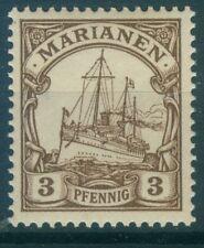 Deutsche Kolonien Marianen 7 , ** , * , o , - Schiffzeichnung