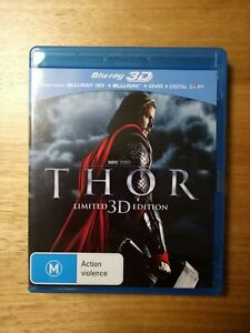 """Blu-ray movies limited 3D edition """"THOR"""""""